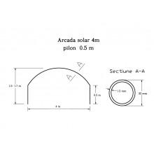 Arcada pentru solar 4-8m